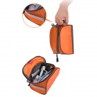 NatureHike Travel Toiletries Makeup Wash Storage Bag - Red Orange
