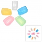 NatureHike Outdoor Travel Toothbrush Head PP Protective Storage Case Set - Multicolored
