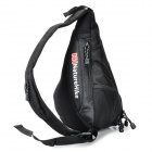 NatureHike NHSDB Single-Shoulder Messenger Bag - Black