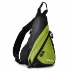 NatureHike NHSDB Single-Shoulder Messenger Bag - Green + Black