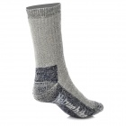 NatureHike Outdoor Sports Socks for Women - Grey + Black (Free Size)