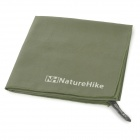 NatureHike Outdoor Quick Drying Towel w/ Pouch - Army Green