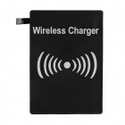 Ultra-thin Qi Standard Wireless Charger Receiver for Samsung Galaxy S5 - Black (5V)