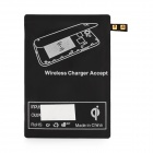 Qi Wireless Charger Receiver for Samsung Galaxy S5 - Black (5V)