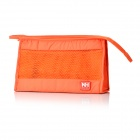 NatureHike Outdoor Travelling Camping Makeup Wash Storage Bag - Orange