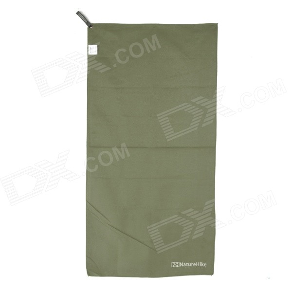 NatureHike Outdoor Travel Sports Superfine Fiber Quick-Dry Towel - Army Green