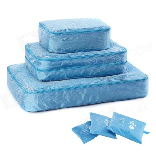 NatureHike 3-in-1 Organizer Storage Bag Container - Blue