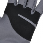 NatureHike Full-Finger Touch Screen Cycling Gloves - Grey + Black (XL)