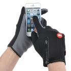 NatureHike Full-Finger Touch Screen Cycling Gloves - Grey + Black (S)