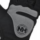 NatureHike Full-Finger Touch Screen Cycling Gloves - Gray + Black (XL)
