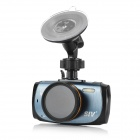"SIV-M5 A7 1296P Car DVR w/ 2.7"", HDR Night Vision / 170' Wide Angle / FCWS/LDWS - Black + Blue"