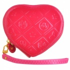LX-03041 Women's Creative Heart-shaped Pocket Purse - Pink (13.5 x 11.5 x 2.5cm)