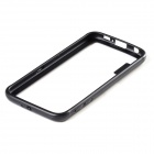 TPU + PC Bumper Frame Case for Samsung Galaxy S6 - Black