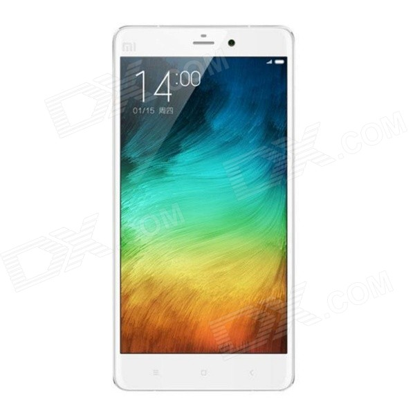 Xiaomi Note Quad-Core Android 4.4 LTE 4G Bar Phone w/ 5.7″IPS FHD, 64GB ROM, 13MP,Wi-Fi, GPS – White