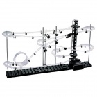 Level 1 DIY Educational Roller Coasters Toy - Black + White