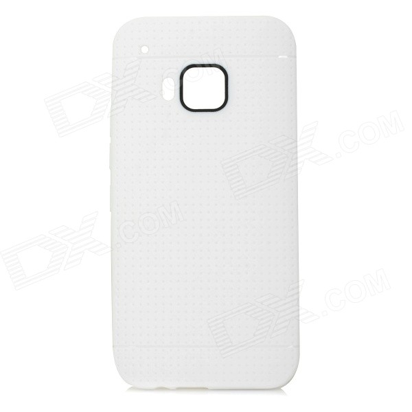 Protective TPU Back Case for HTC One M9 - White