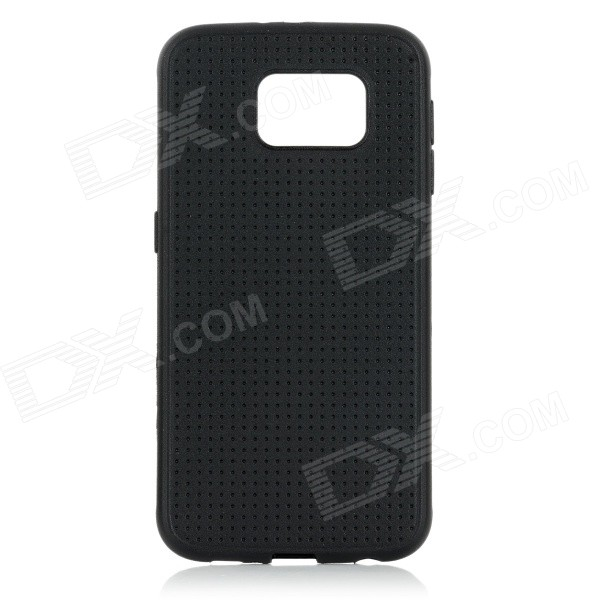 Protective TPU Back Case for Samsung Galaxy S6 - Black