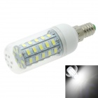 HONSCO E14 4W 320lm Corn Lamp Bulb Cool White 6500K 48-SMD 5730 LED (AC 220V)