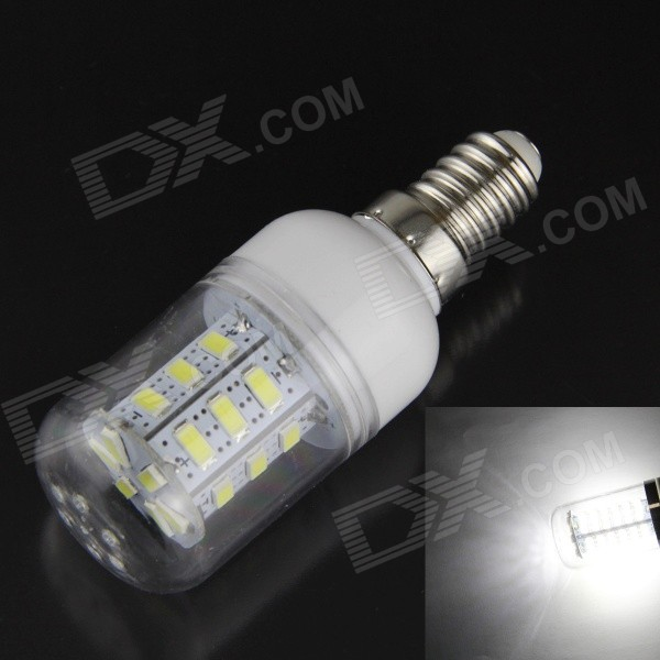 E14 7W LED Corn Light White 7500K 600lm 5730 SMD (220~240V)