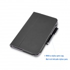 HPS8_B PU Flip Case Cover w/ Stand for HP STREAM 8 Tablet - Black
