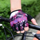 INBIKE Cycling Breathable Half-Finger Gloves - Multi-Color (XL)