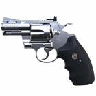 Tokyo Marui Python 357 4 inch Stainless Revolver-Silver
