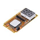 Mini PCI-E/PCI + LPC Diagnostic Post Test Card for Laptop (2-Digit Codes)
