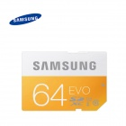 Samsung Electronics UHS I EVO SDXC 64GB Class 10 Memory Card - Orange + White