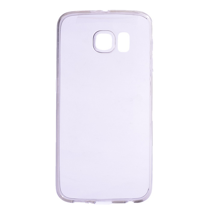 Ultra-thin TPU Back Case for Samsung Galaxy S6 - Translucent Gray