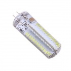 G4 6W 104*SMD 3014 6000K 450~520lm White Lamp (5PCS / 220~240V)