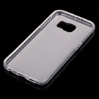 Matte TPU Back Case for Samsung Galaxy S6 - Transparent White