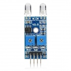 2-CH Diode Sensor Photosensitive Module Board - Blue