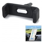 Universal Portable Rotary Car Outlet Mount Holder for Cellphones - Black