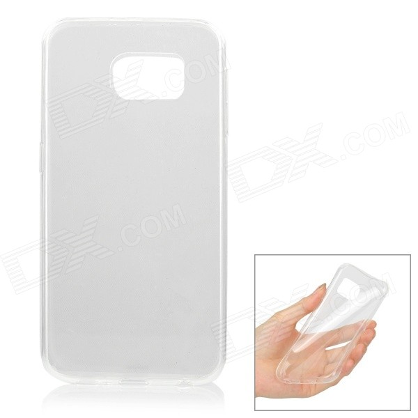 Ultrathin TPU Back Case Cover for Samsung Galaxy S6 - TransparentTPU Cases<br>Form ColorTransparentQuantity1 DX.PCM.Model.AttributeModel.UnitMaterialTPUShade Of ColorTransparentCompatible ModelsSamsung Galaxy S6DesignTransparentStyleBack CasesPacking List1 x Case<br>