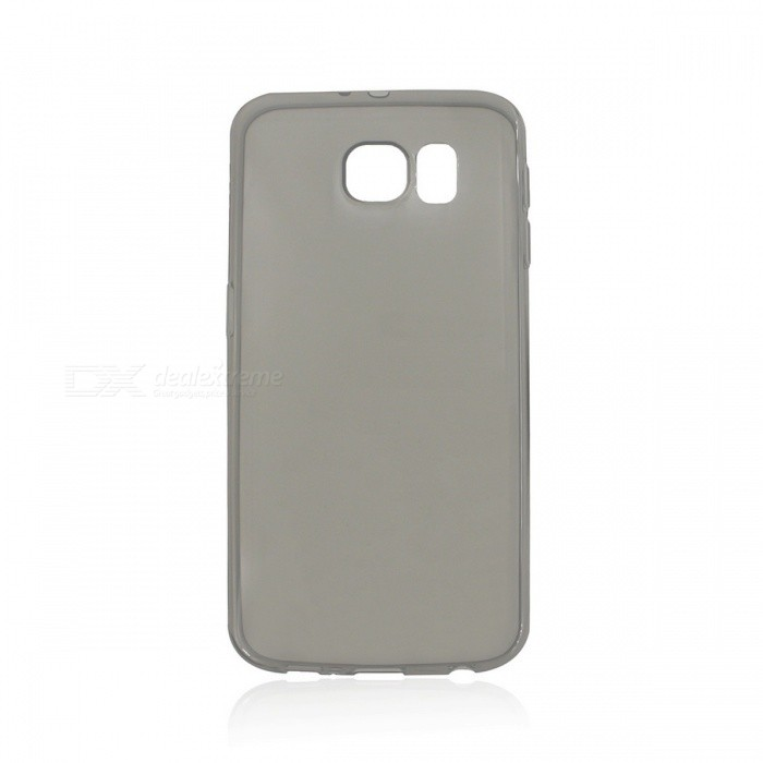 Ultra-Thin Protective TPU Back Case Cover for Samsung Galaxy S6 - Translucent Black