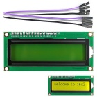 "I2C / IIC 2.6"" LCD 1602 Yellow-Green Display Module for Arduino / Raspberry Pi / AVR / ARM"