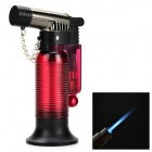 F43 Windproof Welding Jet Lighter - Deep Pink + Black