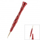 UD 3201 0.8 Torx & 1.2 Philips Screwdriver - Red