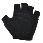 NUCKILY PC03 Men's Half-Finger Cycling Gloves - Black (M)