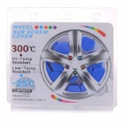 Universal 17# Silicone Car Wheel Hub Screw Cap Cover - Blue (20PCS)
