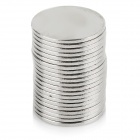 14 x 1mm NdFeB Magnets Set - Silver (20 PCS)