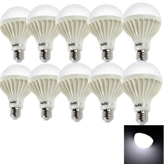 YouOKLight ADS-C5W E27 5W 480lm SMD Cold White Light Bulb (10PCS)