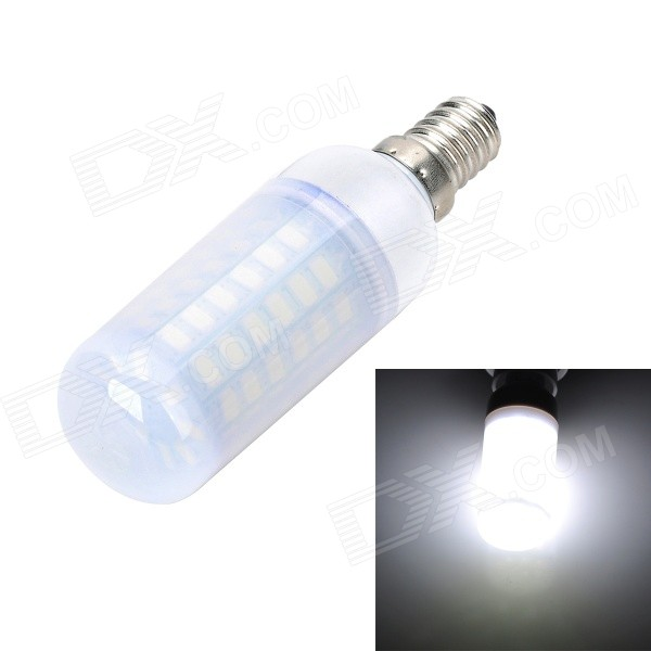 Marsing E14 Frosted 10W 56*SMD 5730 Corn Lamp Cold White Light 1000lm