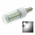 Marsing E14 8W 48 x SMD 5730 LED Bulb Lamp Cool White Light 6500K 800lm (AC 220~240V)