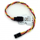 Elecfreaks E00094 Octopus 5mm Red Light LED Sensor Module for Arduino - White
