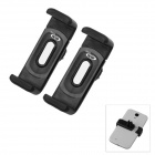 OUMILY 360' Rotation Car Air Conditioning Outlet Anti-Slip Holder for Cellphone - Black (2PCS)