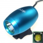 ZHISHUNJIA LT1D-B 1000lm 3-Mode White LED Bicycle Light Lamp w/ Bike Mount - Blue (4 x 18650)