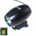 ZHISHUNJIA LT1D-B 1000lm 3-Mode White LED Bicycle Light Lamp w/ Bike Mount - Black (4 x 18650)