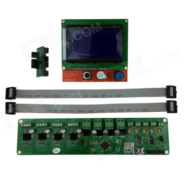 Heacent RepRap Mendel i3 3D Printer Control Board Melzi2.0 + LCD scherm DIY Kit