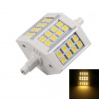 KINFIRE R7S 8W LED Halogen Lamp Floodlight Warm White 3000K 560lm SMD 5050 (AC 90~265V)